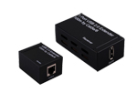 USB 2.0 Extender 1x1 over single cat5e6 100M