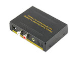 SPDIF TOSLINK Optical Audio 3X1 Switch with 5.1CH Decoder for Stereo Out
