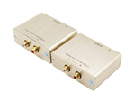 Stereo RCA Hi-Fi Audio Balun Extender Over Cat5e RJ45 Ethernet Cable up to 1000m
