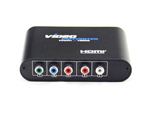 5RCA Component YPbPr Video and Stereo Audio R/L to HDMI Converter Adapter 720P 1080P